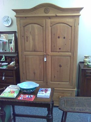 Large Pine Wardrobe previously sold in the shop